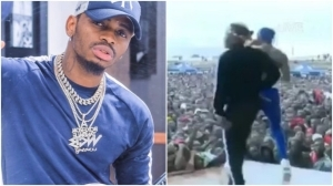 Tanzanian Musician, Diamond Platnumz Disappears As Stage Collapses